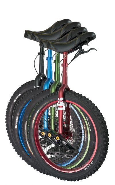 "QX-series #rgb 24"" unicycles"