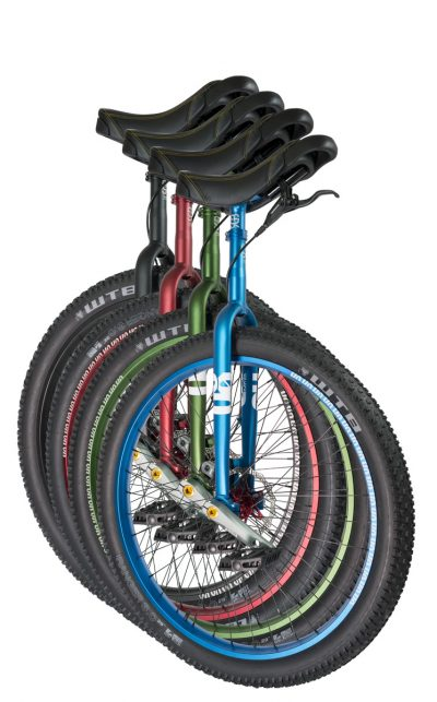 "QX-series #rgb 29"" unicycles"