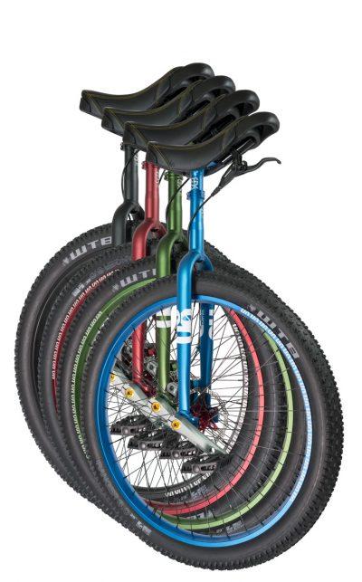 "QX-series #rgb 29"" unicycles"