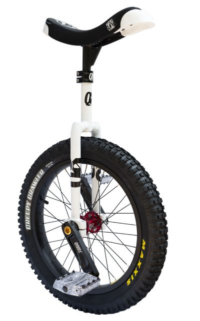 "QX-series 19"" Trials Uni Q-Axle weiss"