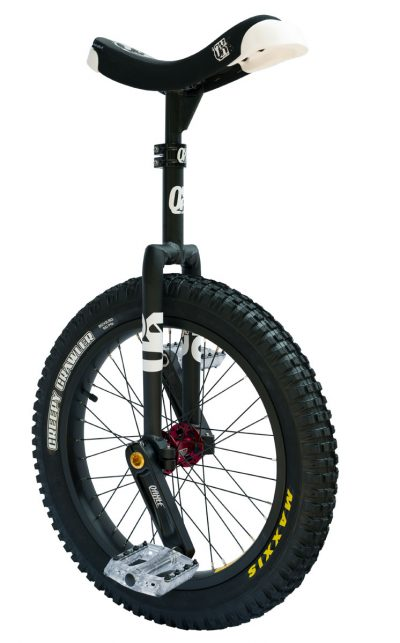 "QX-series 19"" Trials Uni Q-Axle black"