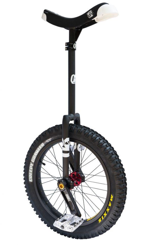 "QX-series 19"" Trials Uni Q-Axle schwarz Longneck"