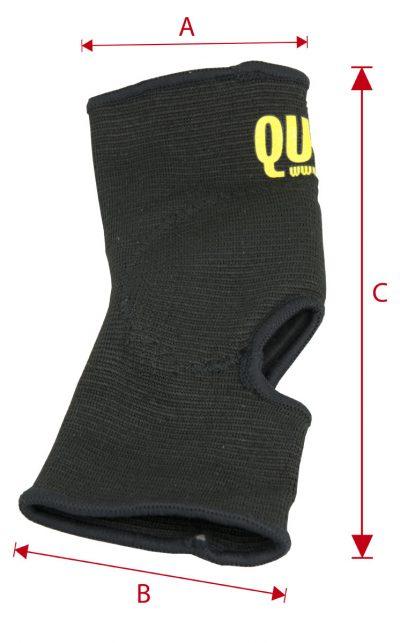 size ankleguard