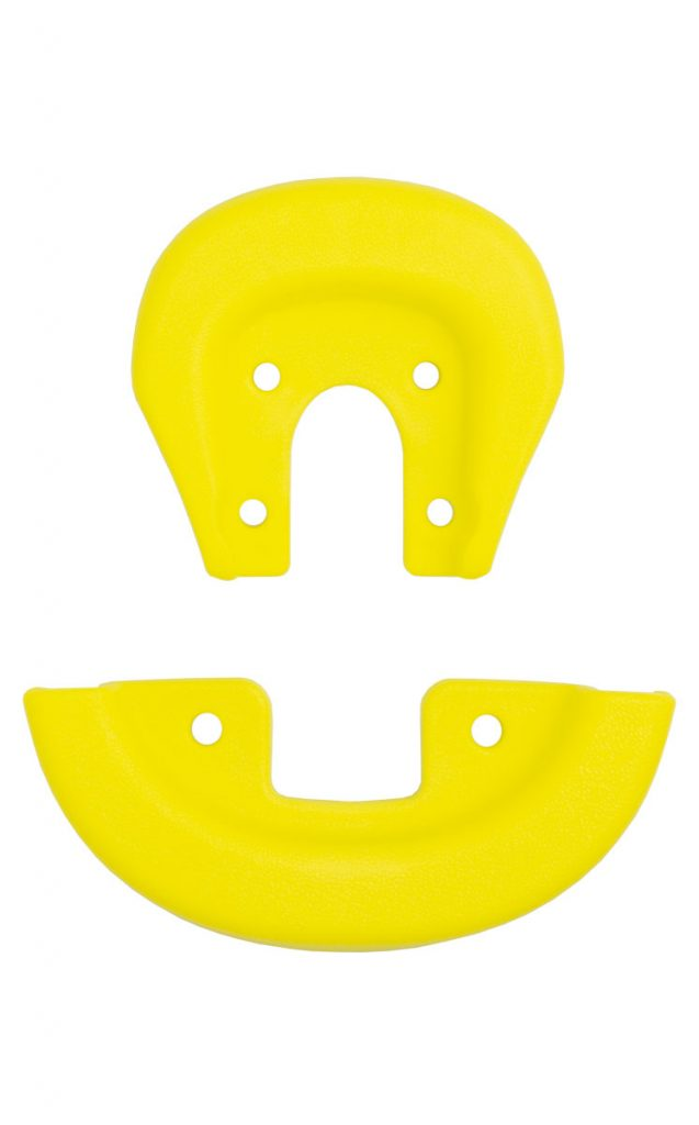 2152 QU-AX Schutzecken für Standardsattel, gelb