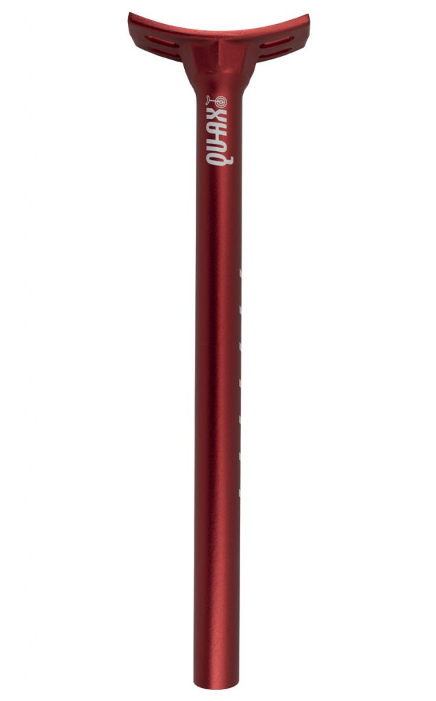 2903 QU-AX #octa seatpost 25.4 mm, red