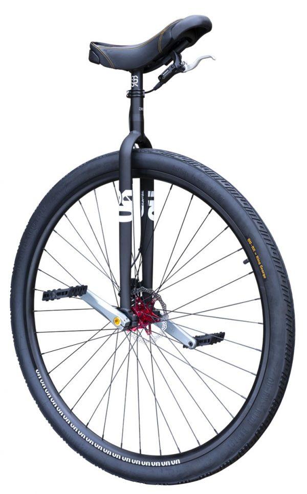 "7660 #rgb Distance unicycle 36"" Disc, black"
