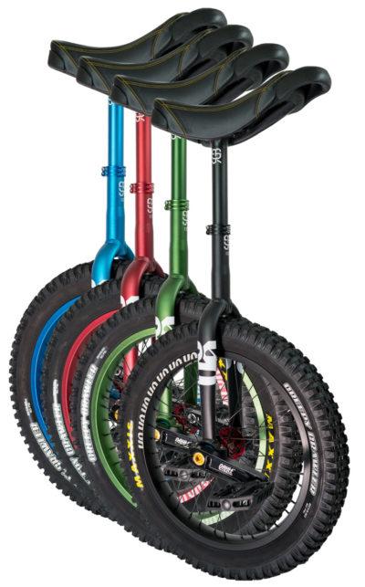 "QX-series #rgb 19"" unicycles"