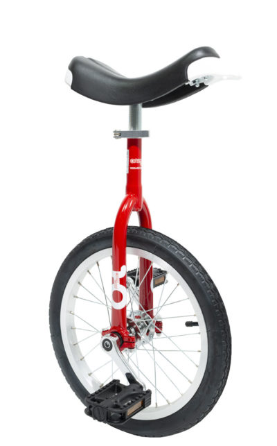 OnlyOne unicycle 305 mm (16″) red