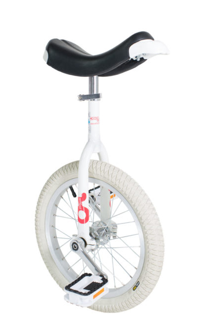 OnlyOne unicycle 305 mm (16″) Indoor white