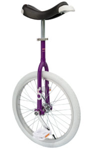 OnlyOne unicycle 406 mm (20″), purple