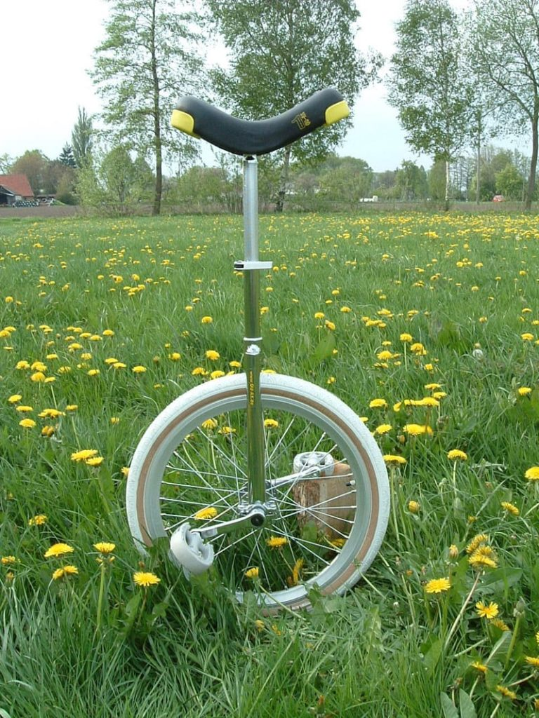 Upgraded first Profi unicycle