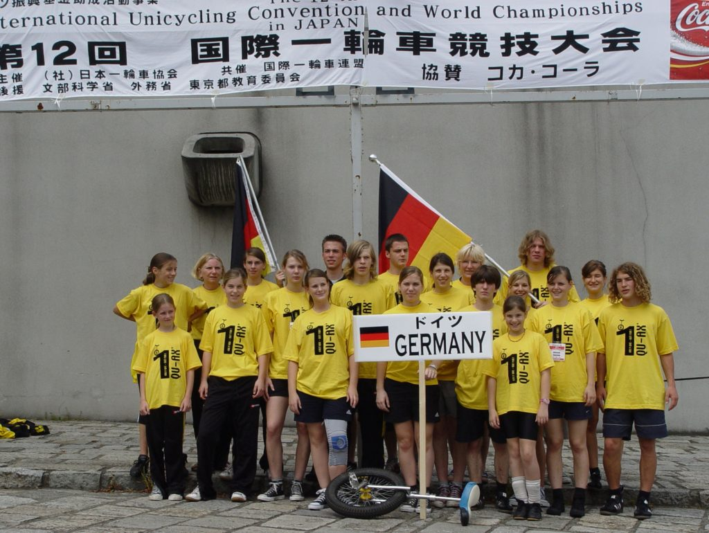 Unicon in Japan - German Team