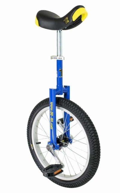 """QU-AX Luxus Einrad 355 mm (18"""") blau"""