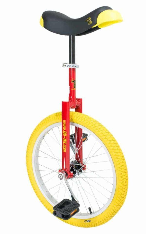 """Luxus Einrad 406 mm (20"""") rot"""
