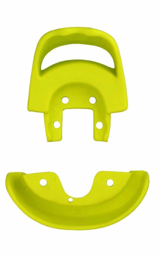 Schutzecke & Griff alt, gelb
