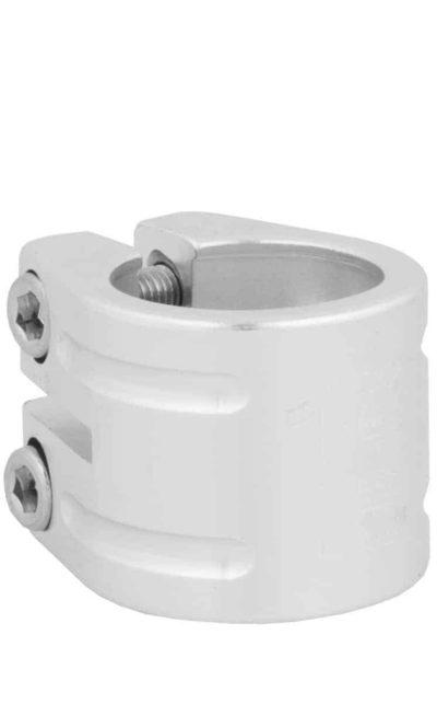 Sattelklemme QU-AX, silber, 31.8 mm