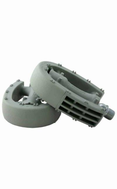 MKS Pedal, Rubber X, grau
