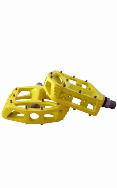 QU-AX Pedal, Magnesium, gelb