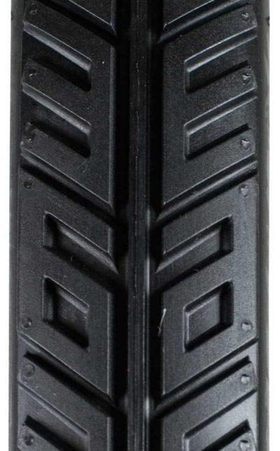 """QU-AX Reifen 787 mm (36""""), King George, schwarz"""