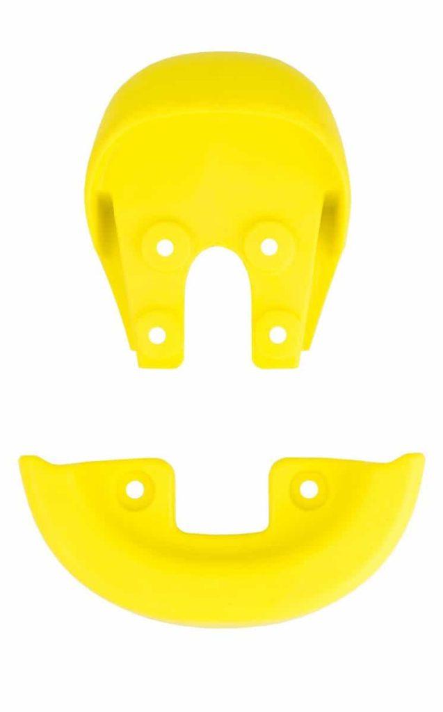 Griff (integriert) & Schutzecke, gelb
