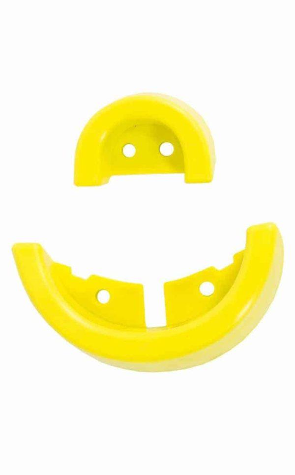 Griff & Schutzecke für QU-AX Kindersattel, gelb
