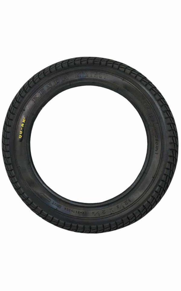 """QU-AX Reifen 203 mm (12"""") schwarz"""
