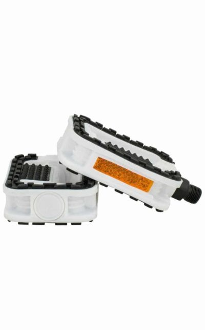 QU-AX Antislip Pedal, weiss