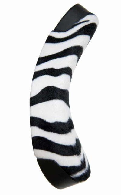 QU-AX Luxus Kindersattel, zebra