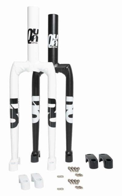 QX-series Aluminiumgabel, weiss/schwarz, 19