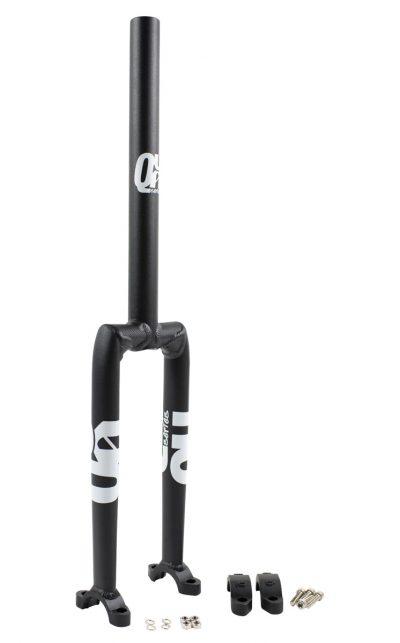 "QX 387 mm (19"") Muni Longneck Einradgabel, Alu, schwarz"