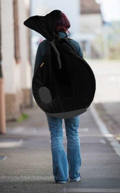 Rucksack zum Einradtransport