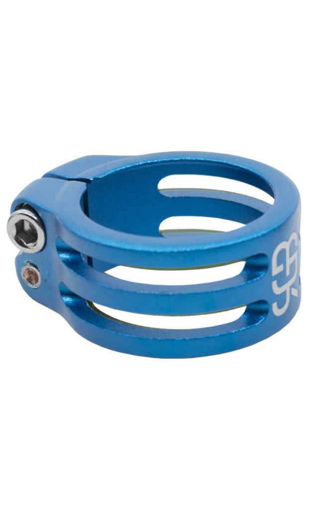 #rgb Sattelklemme 34,9 mm, blau