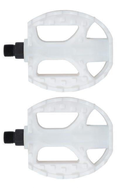 Standard Kunststoff Pedal, weiss