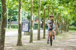 Einrad fahren lernen!