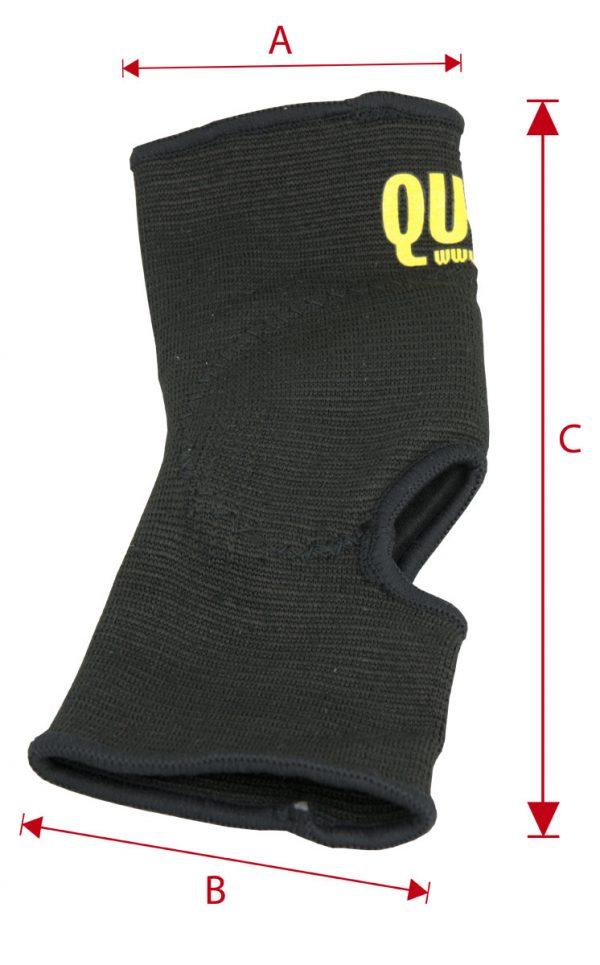Maße Knöchelschoner QU-AX