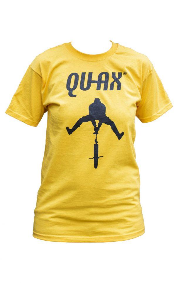 QU-AX T-Shirt, gelb