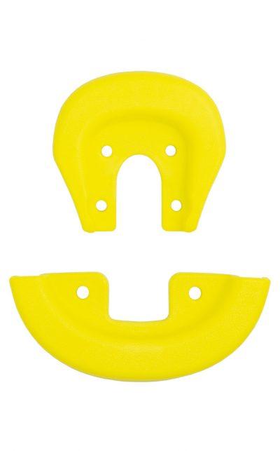 2152 QU-AX Schutzecken für Standard Sattel, gelb