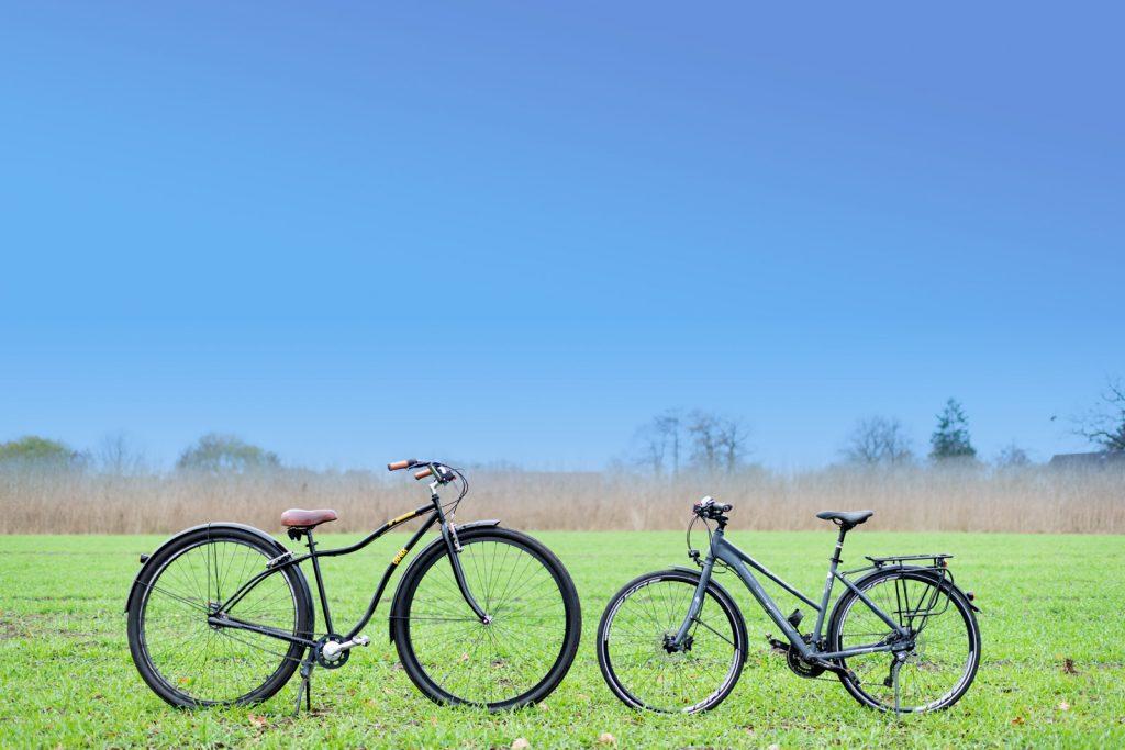 """36"""" Monsterbike Vergleich 28"""" Fahrrad"""