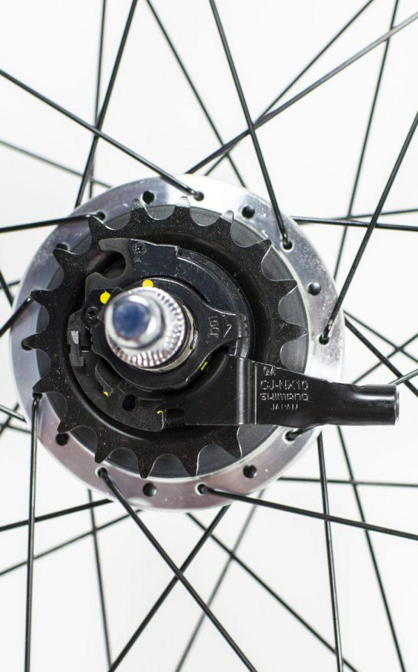10008 QU-AX Hinterrad 7-Gang Nexus für Monsterbike
