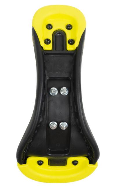 QU-AX Standard Einradsattel, schwarz