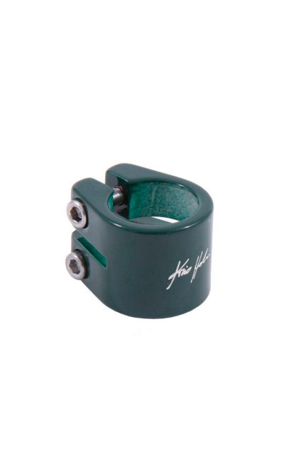 Sattelklemme Kris Holm, grün, 31.8 mm
